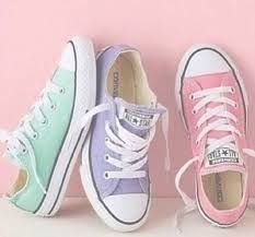 """Converse"" Women Men Fashion Canvas Flats Sneakers Sport Shoes from Love Fashion. Saved to Things I want as gifts. Converse Chucks, Converse All Star, Custom Converse, Converse Shoes For Kids, Converse Shoes Outfit, Colored Converse, Converse Girls, Shoes Tennis, Converse Low Tops"