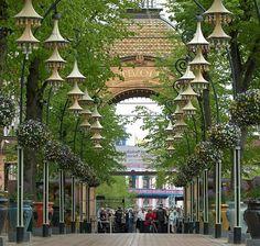 Tivoli Gardens, Copenhagen.  Been there! Ditto in 1970-BGS