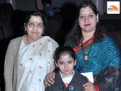 Trigoona Anand, student of Bal Bharti Public School, Pitampura appreciated by Dr Sunita S Kaushik for wonderful performance of Ganesh Vandana