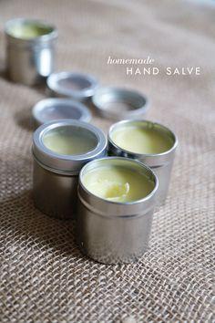 homemade hand salve easy gift idea