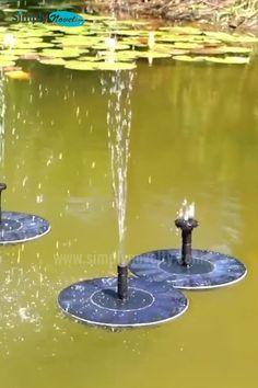Ponds Backyard, Backyard Landscaping, Garden Art, Garden Design, Garden Beds, Stone Flower Beds, Flower Pots, Bird Fountain, Hydrangea Care