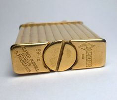 1930s Gold Plated Parker Beacon Lighter Dunhill Subsidiary RARE | eBay