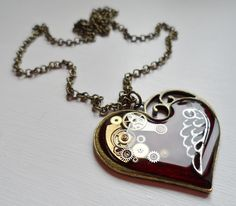 steampunk necklace | Tumblr