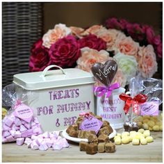 Mummy & Me, £27.95 Busy At Work, Tasty, Treats, Hampers, Desserts, Business, Food, Sweet Like Candy, Meal