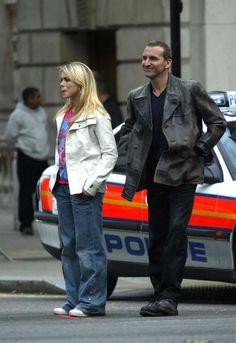 Billie Piper (Rose) & Christopher Eccleston (Ninth Doctor)