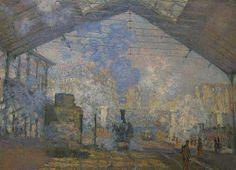 Monet - La gare St Lazarre