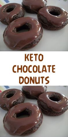 Ingridients 1 cup / almond flour or ground almonds 40 g / oz unsweetened chocolate melted tbsp) 40 g / oz butter very . Best Diet Foods, Fat Foods, Almond Flour Donut Recipe, Coconut Flour, Donut Recipes, Keto Recipes, Healthy Recipes, Lunch Recipes, Dinner Recipes