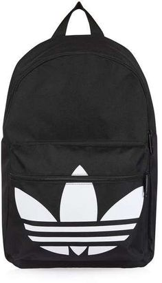 492e11a4 Adidas originals Trefoil backpack Addidas Backpack, Topshop Backpack,  Topshop Bags, Black Backpack,