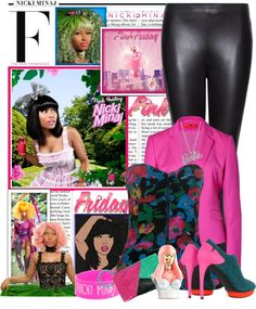 """""""Totally Fearless with Pink Friday Nicki Minaj"""" by emilymarie24 on Polyvore"""