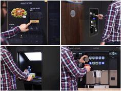 Primer autoservicio para comida gourmet basado en vending : Profesional Horeca