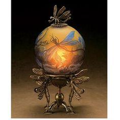 Gallé Globe Lamp - Art Nouveau