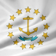 Rhode Island Flag picture