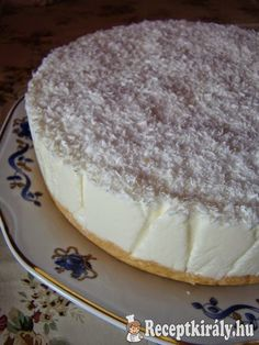 Sweet Desserts, No Bake Desserts, Sweet Recipes, Dessert Recipes, Hungarian Desserts, Hungarian Recipes, Speed Foods, Torte Cake, Sweet Tarts