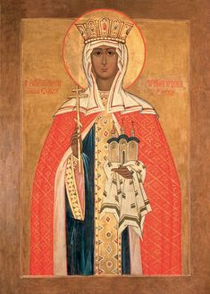 Your Online Source for Icons, Crosses and Other Spiritually-Edifying Gifts- Since Olga Of Kiev, Church Interior, My Ancestors, Sacred Art, Middle Ages, Art Reference, Tarot, Disney Characters, Fictional Characters