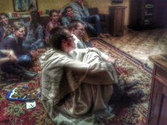 """""""Rodzinne"""" spotkanie. Jedno ze spotkań Szpuntu, czyli jesteśmy w domu :) fot. Katarzyna Drożdż #dominikanie #konkurs #4poryroku"""