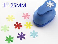 freeship 25mm snowflake paper cutter craft perfurador cutter scrapbooking paper punch for kids furador diy puncher R340 #Affiliate