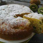 Torta morbida ai kiwi