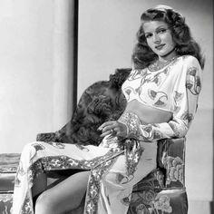 Rita Hayworth from Fabulous Films & Stars...