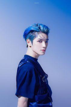 Lee Taeyong, Taemin, Beautiful Boys, Pretty Boys, Kpop, Grupo Nct, Ntc Dream, Idole, Blue Hair