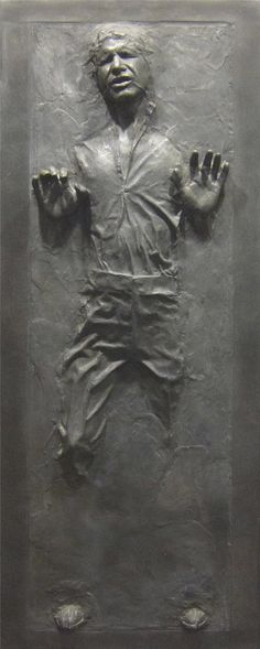 Star Wars Han Solo in Carbonite Wall Decal