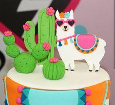 13 Birthday Cake, Llama Birthday, 13th Birthday, Alpacas, Cactus Cake, Llama Alpaca, Diy Food, Dinosaur Stuffed Animal, Baby Shower