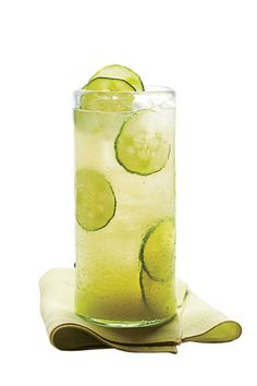 Refreshing Teas and Non-Alcoholic Sippers: Cucumber-Ginger Limeade