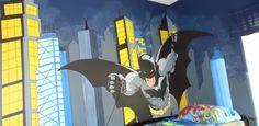 #batman bedroom
