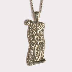"Sterling Silver ""Grafted In"" Messianic Seal pendant. Provided with a 45cm sterling silver chain. Price: US$58"