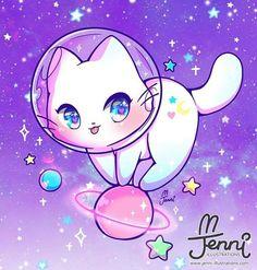 Cat wallpaper misc stuff i likes kawaii drawings, kawaii anime und cute ani Kawaii Anime, Chat Kawaii, Cute Anime Chibi, Kawaii Chibi, Kawaii Cat, Kawaii Doll, Cute Kawaii Animals, Cute Animal Drawings Kawaii, Gato Anime