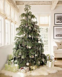 Christmas deco tips for a beautiful Christmas tree - Home decoration ideas
