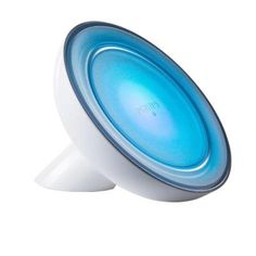 Philips Friends of Hue 40W Equivalent Adjustable Color Connected LED Bloom Lamp White Single-259515 at The Home Depot