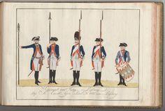 Regiment von Jung-Lossberg - 1784
