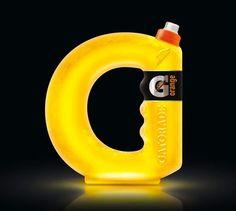 Gatorade - 15 Most Creative Food Packaging Designs