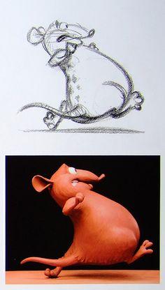 Living Lines Library: Ratatouille - Concept Art Pixar Concept Art, Disney Concept Art, Arte Disney, Disney Art, Disney Pixar, Disney Animation, Character Design Animation, Character Design References, Disney Sketches