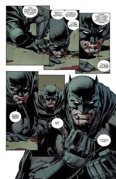 Batman, the most bad ass man you'll ever know