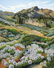 Pennyroyal Retreat by phyllis shafer. Her art reminds me of home.