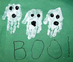Make these ghost hand decorations during your outdoor movie party -  A unique outdoor movie night theming idea from Southern Outdoor Cinema