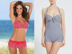 Costume Da Bagno Pin Up Anni 50 : Best beachwear images bikini swimsuit bikini