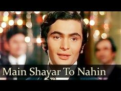 Bobby - Main Shayar To Nahin Magar Ae Haseen - Shailendra Singh - YouTube