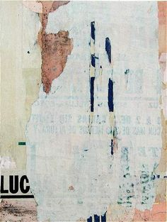 "Cecil Touchon ,""Fusion Series#1898"", collage on paper http://cecil.touchon.com/FS1898.html"