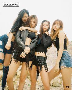 Black Pink group teaser photo #YG #NEWGIRLGROUP #DEBUT #BLACKPINK #JISOO #JENNIE #ROSÉ #LISA #4MEMBERS