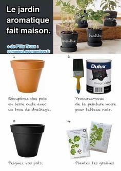 Gardening Herb DIY Garden - Doe het zelf Tuin ** Ook leuk voor in de tuin natuurlijk! :) - We found these DIY indoor herb garden ideas and projects that are just a cut above the usual terra cotta pots. (Not that there is anything wrong with that! Hydroponic Gardening, Container Gardening, Indoor Gardening, Organic Gardening, Kitchen Gardening, Kitchen Herbs, Organic Herbs, Gardening For Beginners, Gardening Tips