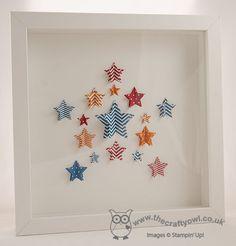 Star Framelits 3D Wall Art