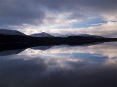 Loch Morlich in the Cairngorm National Park, Scotland