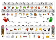 A request from a member for a desk mat with both alphabet and Yr 1 digraphs on dotted thirds (well the closest we could get to it.)Here is an A4 desk mat. It has the alphabet at the top and Yr 1 digra