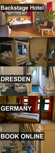 Backstage Hotel in Dresden, Germany. For more information, photos, reviews and best prices please follow the link. #Germany #Dresden #travel #vacation #hotel