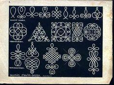 Hungarian folk art lovely for jewelry or other handcrafted inspiration -- A teljes méretű képhez kattints ide + Diavetítés Magyar motívumok