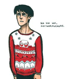 Levi - Rivaille - Attack on Titan - SNK - Shingeki no Kyojin - tis the season
