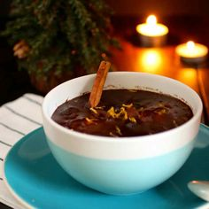 Imbuljuta tal-Qastan is a traditional hot and spiced cocoa-based Maltese drink served after midnight mass at Christmas and at New Year's Eve.