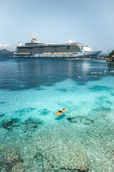 """Excellent """"Royal Caribbean ships"""" info is readily available on our web pages. Read more and you will not be sorry you did. Biggest Cruise Ship, Best Cruise Ships, Royal Caribbean Ships, Royal Caribbean Cruise, Cruise Travel, Cruise Vacation, Vacations, Galveston Cruise, Cruise Pictures"""